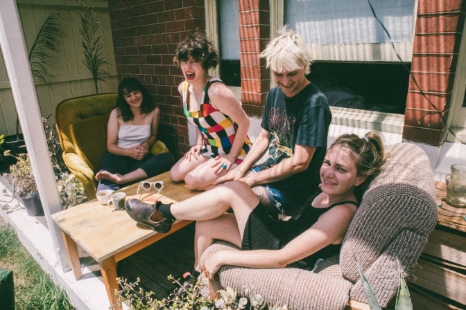 Video Premiere: SLAG QUEENS – 'REAL 1'