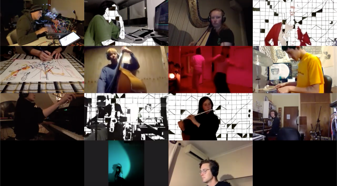 Video Premiere: THE ISOLATION IMPROVISATION COLLECTIVE – 'GRID LAKE III'